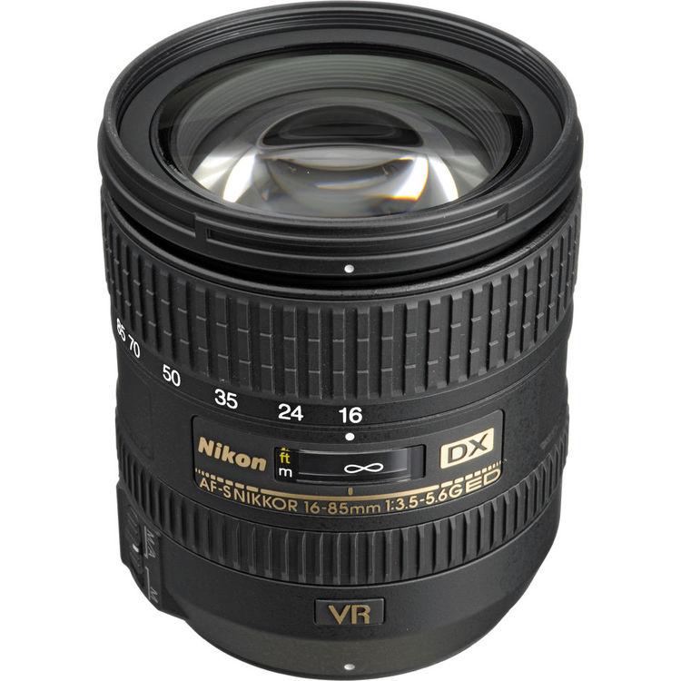 لنز نیکون AF-S DX Nikkor 16-85mm ED VR