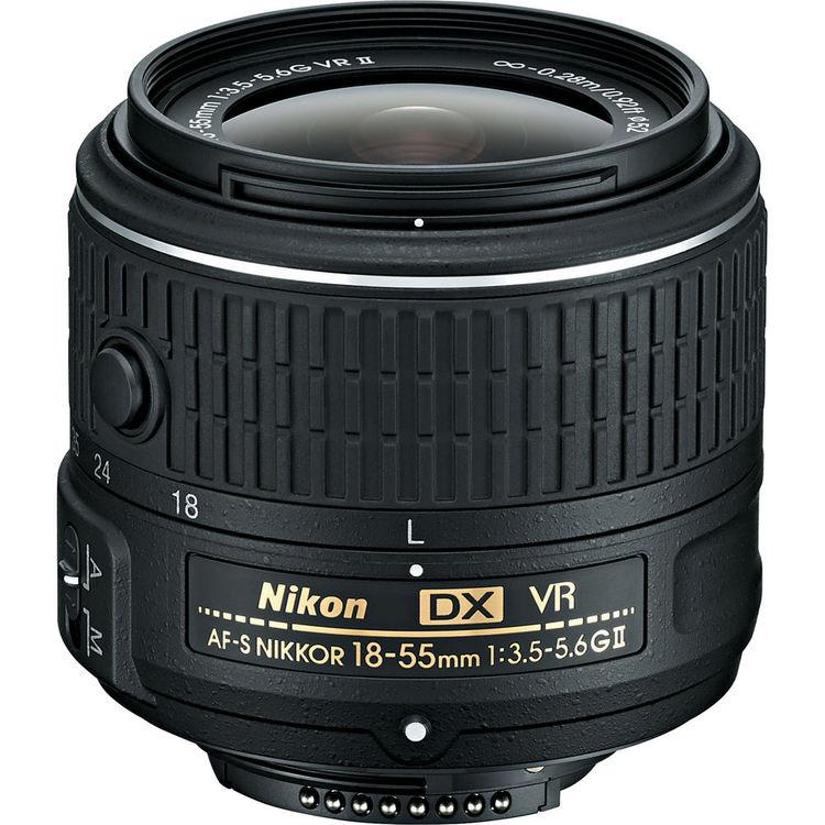 لنز نیکون AF-S DX Nikkor 18-55mm VR II