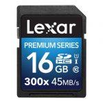 کارت حافظه Lexar 16GB Premium Series UHS-I 300x SDHC