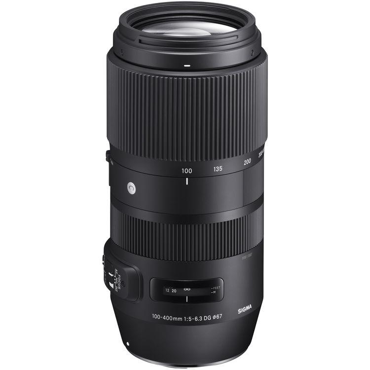 لنز Sigma 100-400mm