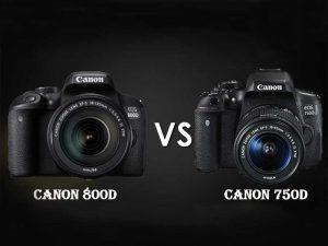 ۱۳ تفاوت مهم کانن EOS 800D در برابر کانن EOS 750D