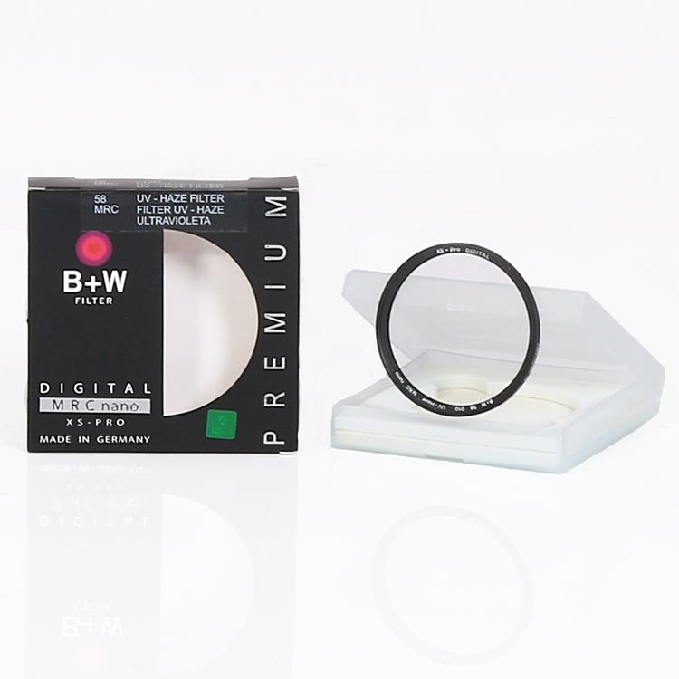 فیلتر عکاسی یو وی B+W 58mm XS-Pro