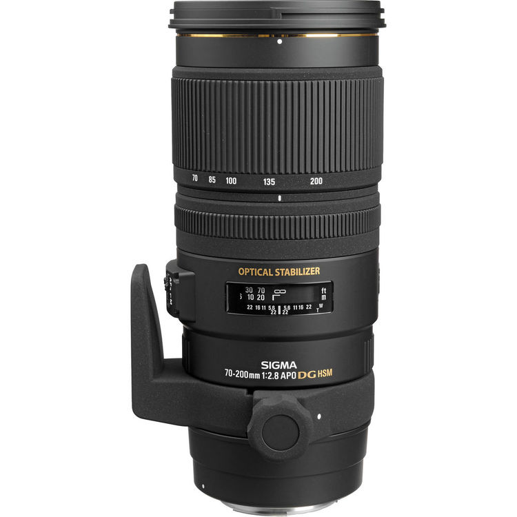 لنز Sigma 70-200mm for canon