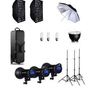 NiceFoto Kit Studio Flash TS-400