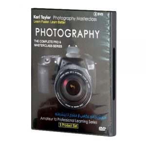 DVD آموزش جامع عکاسي از مبتدي تا پيشرفته