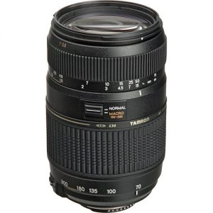 Tamron AF 70-300mm F4-5.6 Di LD Macro for Canon