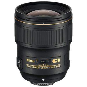 لنز نیکون AF-S Nikkor 28mm f/1.4E ED