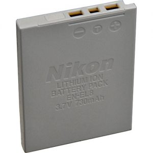 باتری EN-EL8 Lithium-Ion For Nikon-HC