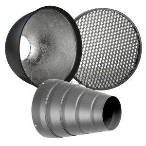 اسنوت با کاسه و زنبوری هنسل Hensel Snoot-Honey Comb-Reflector