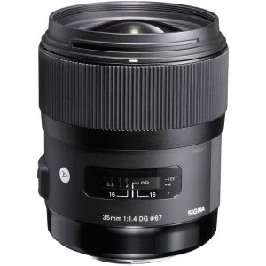 لنز سیگما Sigma 35mm f/1.4 DG HSM Art for Canon