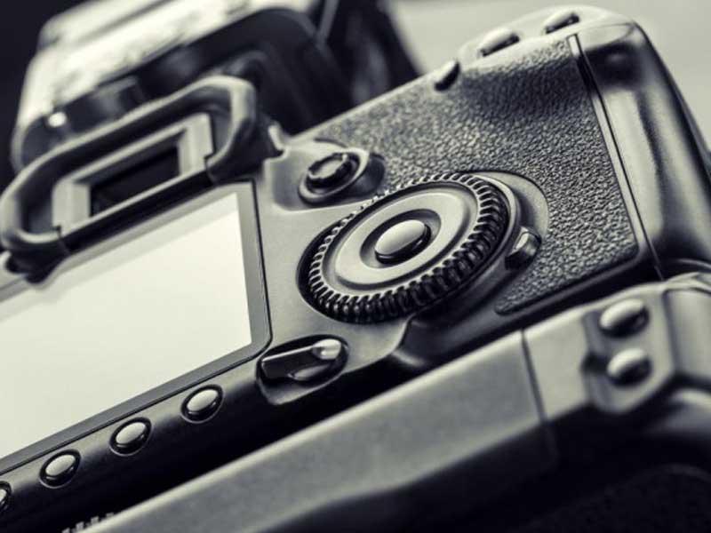 دکمههای دوربین