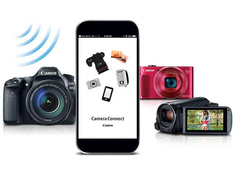 برنامه Camera Connect برای دوربینهای کانن چه کاربردی دارد؟