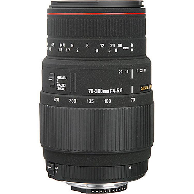 لنز سیگما Sigma 70-300mm for Nikon