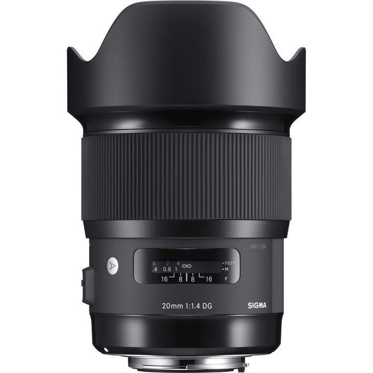لنز سیگما Sigma 20mm for Nikon