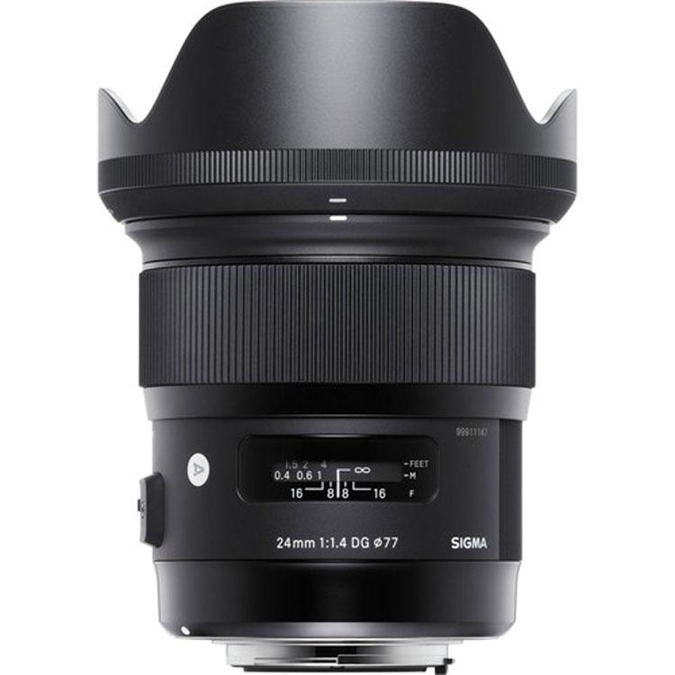لنزسیگما Sigma 24mm for Nikon F
