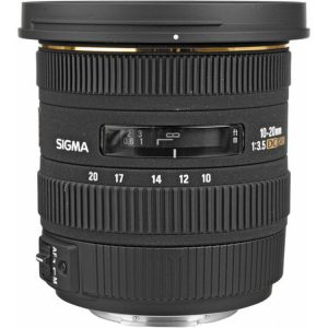 لنز سیگما Sigma 10-20mm for Canon