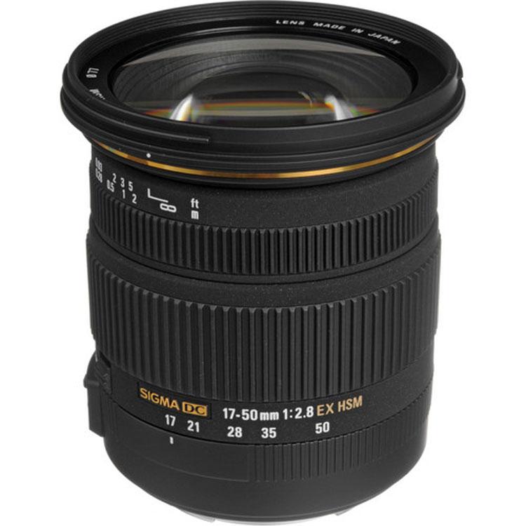 لنز سیگما Sigma 17-50mm for Canon