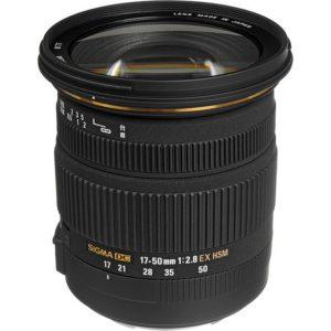 لنز سیگما Sigma 17-50 mm 2.8 EX DC OS HSM for Nikon