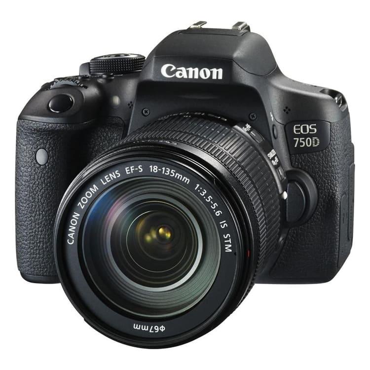دوربین کانن 750D با لنز 135-18