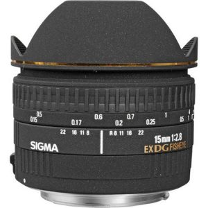 لنز سیگما Sigma 15mm f/2.8 EX DG Diagonal Fisheye for Canon EF