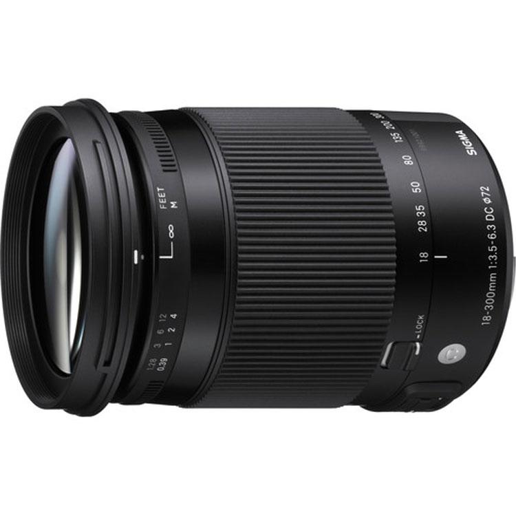 لنز Sigma 18-300mm for Nikon