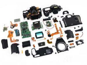 اجزای داخلی دوربین و عملکرد آن ها: