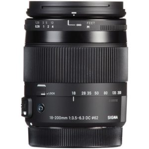 لنز سیگما Sigma 18-200mm F3.5-6.3 DC Macro OS HSM for canon
