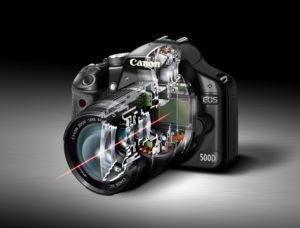 اجزای داخلی دوربین و عملکرد آن ها