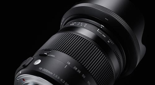 لنز سیگما Sigma 18-200mm Macro OS HSM for canon