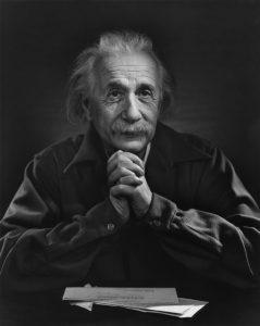 آلبرت انیشتین عکس از یوسف کارش