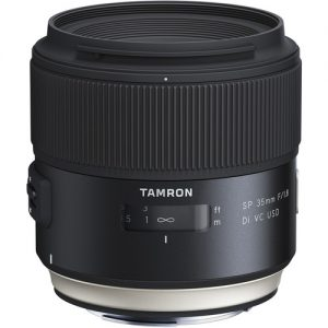 لنز تامرون Tamron SP 35mm f/1.8 Di VC USD for Canon EF