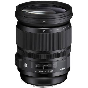 لنز سیگما Sigma 24-105mm f/4 DG OS HSM Art for Canon