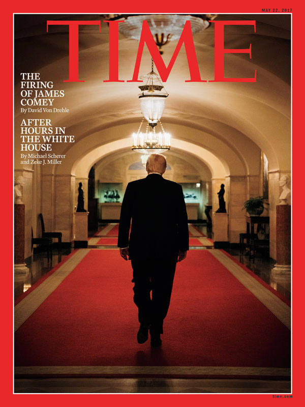 بنجامین راسموسن مجله تایم دوناد ترامپ مجله عکس نوریاتو