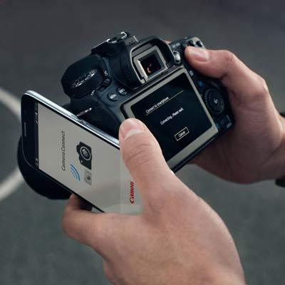 دوربین کانن 80D kit 18-55