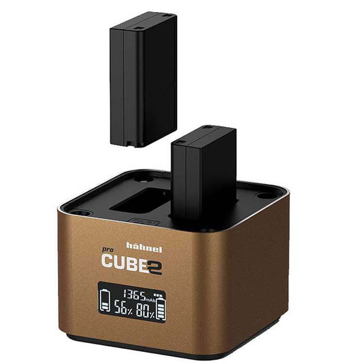 شارژر دوبل هنل Hahnel ProCUBE2 Charger for Canon