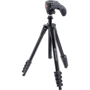 سه پایه مانفروتو Manfrotto Compact Action Aluminum Tripod