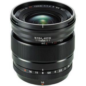 لنز فوجی XF 16mm f/1.4 R WR Lens