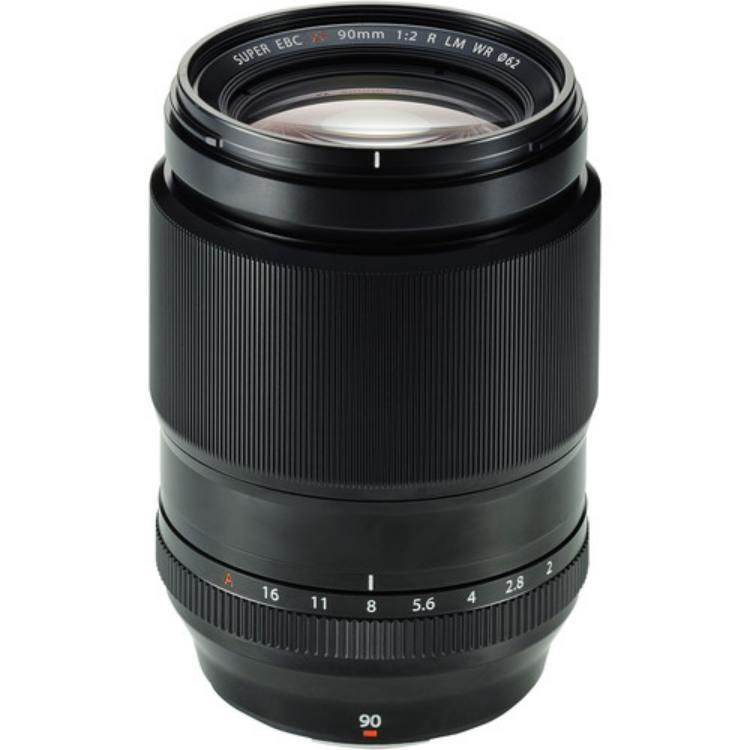 لنز فوجی XF 90mm f/2 R LM WR Lens