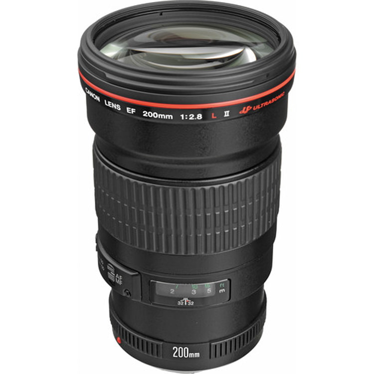 لنز کانن EF 200mm f/2.8L II USM