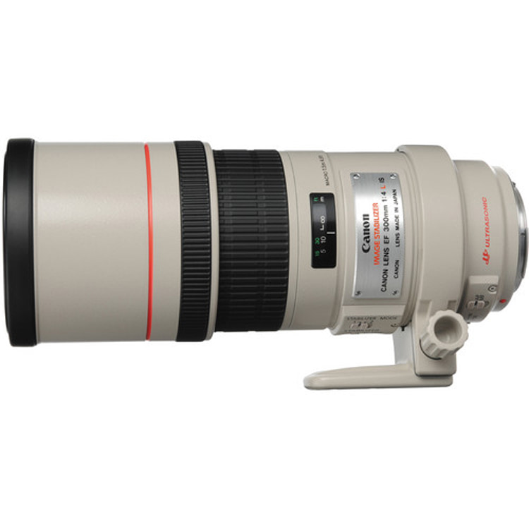 لنز کانن EF 300mm f/4L IS USM