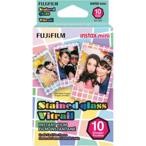 کاغذ پرینترFUJI instax mini Stained Glass Instant Film