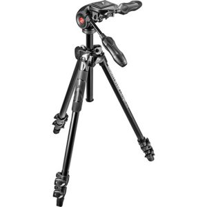 سه پایه Manfrotto 290 Light Kit 3-way head