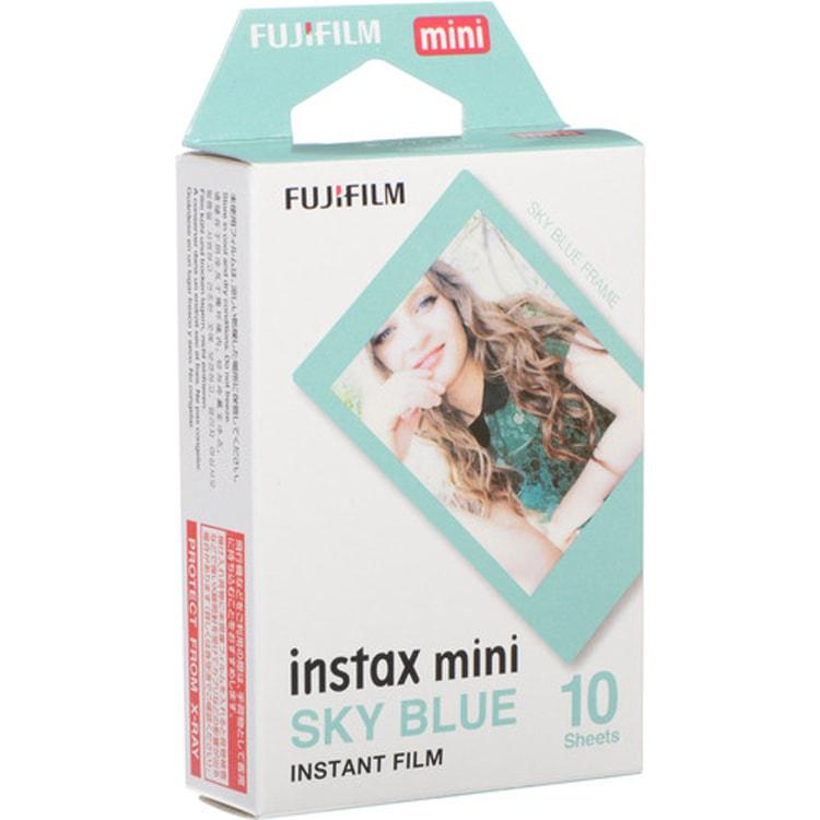 کاغذ پرینتر فوجی instax mini Blue frame Film