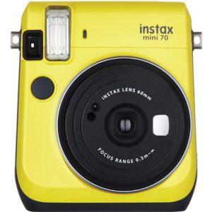 دوربین چاپ فوری فوجی instax mini70 Yellow