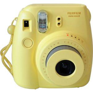 دوربین چاپ فوری فوجی instax mini 8 Yellow
