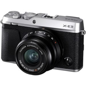 دوربین فوجی X-E3 kit XF 23mm f/2 Silver