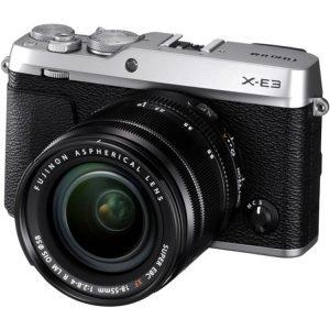 دوربین فوجی X-E3 kit XF 18-55mm Silver