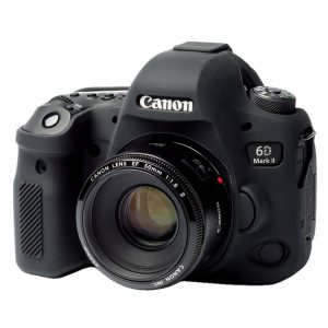 پوشش سیلیکونی Silicone Protection Cover for Canon 6D Mark II