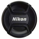 درب لنز نیکون مدل Nikon 55mm Lens Cap