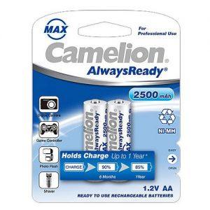باتری AA 2500- 2pcs Camelion